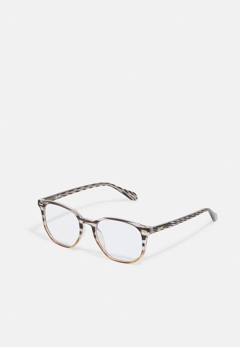 QUAY AUSTRALIA - CTRL BLUE LIGHT - Blue light glasses - brown