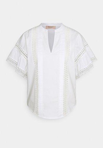 BLUSA DETTAGLI - Print T-shirt - bianco ottico