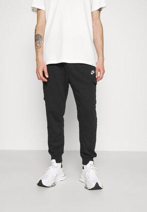 CLUB PANT - Teplákové kalhoty - black/white