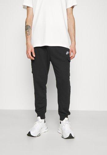 CLUB PANT - Tracksuit bottoms - black/white
