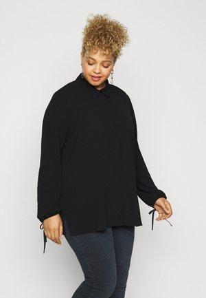 BALENARE - Button-down blouse - black