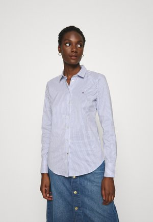SALLY  - Button-down blouse - tabi blue violet