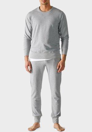 Pyjama top - light grey melange