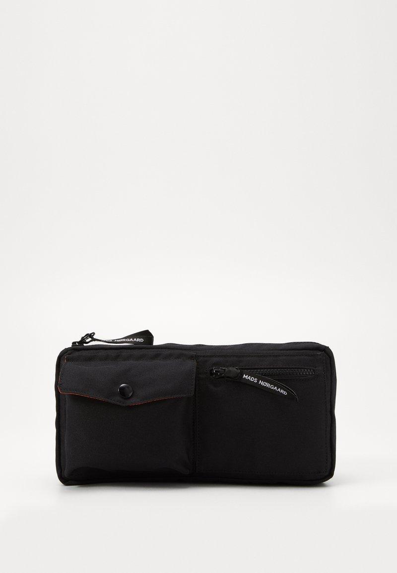 Mads Nørgaard - BEL AIR RECY CARNI UNISEX - Bum bag - black