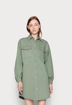Skjortekjole - khaki
