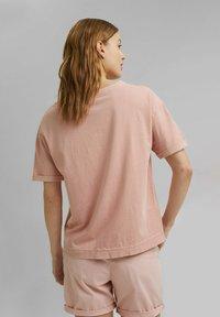 Esprit - Basic T-shirt - nude - 2