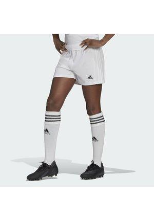 SQUADRA - Pantalón corto de deporte - white/white
