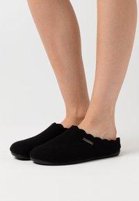 Shepherd - PAULINA - Slippers - black - 0
