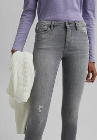 edc by Esprit - Jeans Skinny Fit - mottled grey - 3