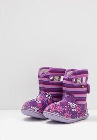 Bogs - BABY GARDEN - Winter boots - purple/multicolor - 3