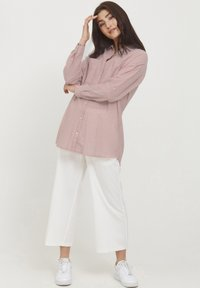 b.young - BYFIE STRIPE - Button-down blouse - canyon rose mix - 1