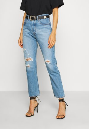501® CROP - Jean slim - sansome light