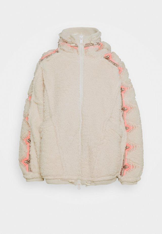 LODGE LIVIN JACKET - Training jacket - natural/pink combo