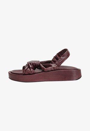 Platform sandals - vinegar vng