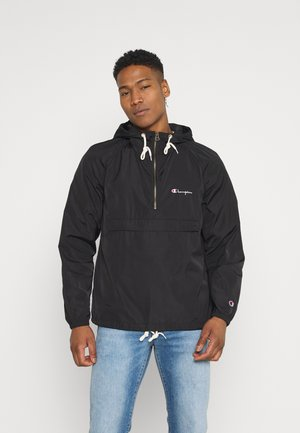 HOODED JACKET - Giacca a vento - black
