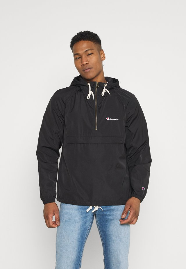 HOODED JACKET - Windbreaker - black