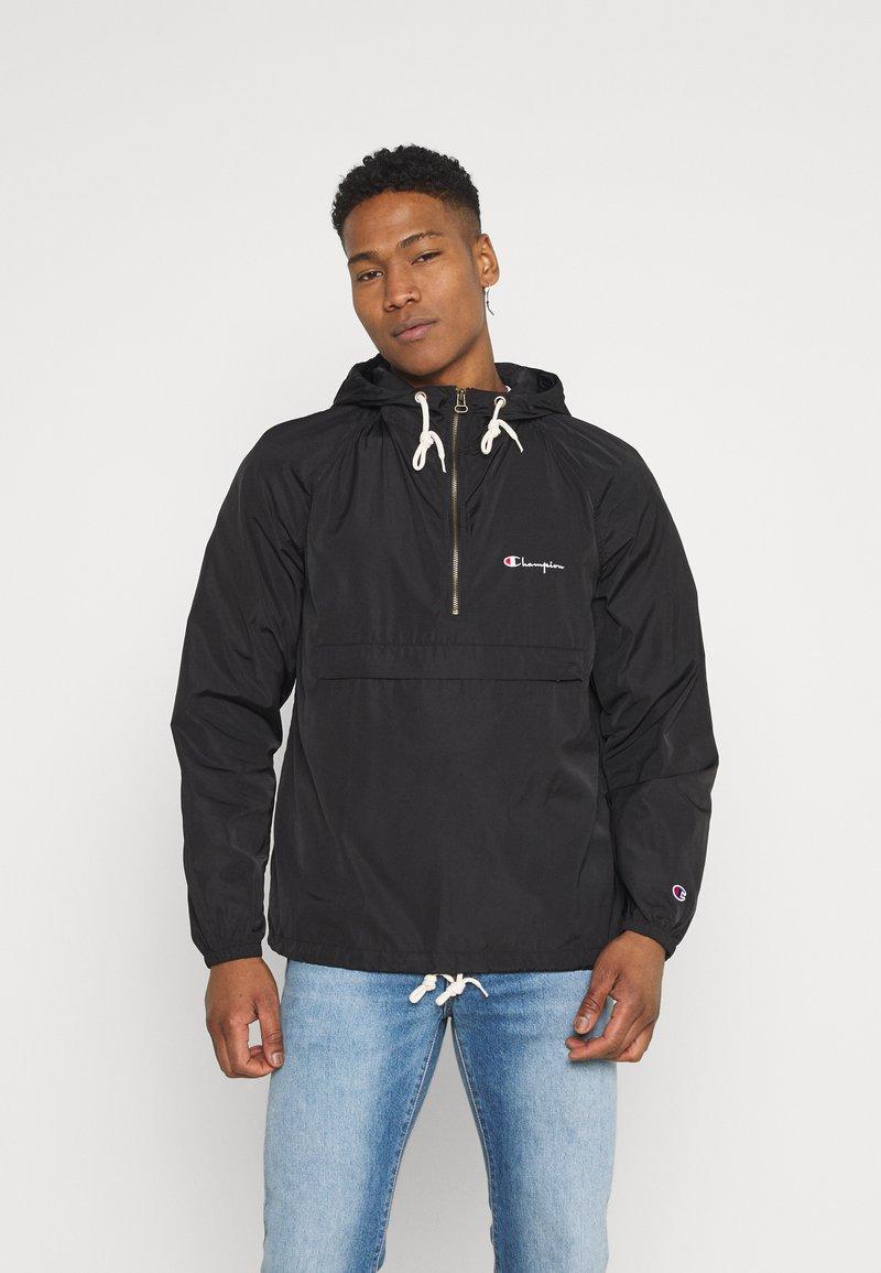 Champion Reverse Weave - HOODED JACKET - Větrovka - black
