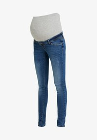 MAMALICIOUS - OHIO MEDIUM - Jeans slim fit - light blue denim - 3