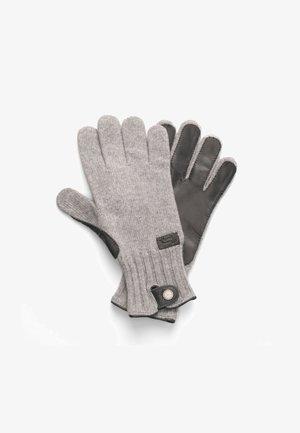 Gloves - grigio scuro screziato