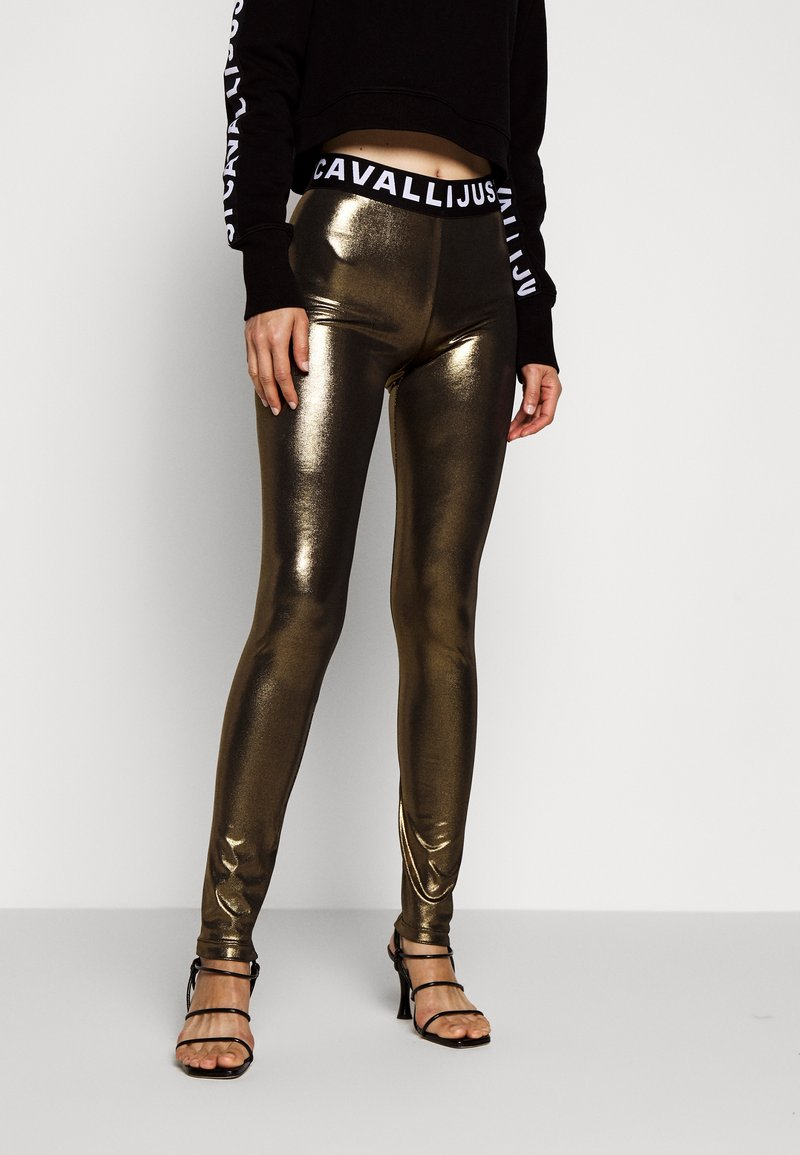 Just Cavalli - Leggings - Trousers - gold
