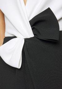 Marchesa - Suknia balowa - black/white - 7