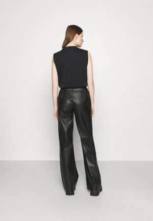 DINARA PANTS - Kalhoty - black