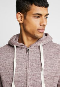 Blend - Zip-up hoodie - wine red - 3