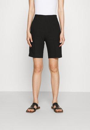 SLIM TAILORED  - Shorts - black