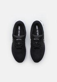 Nike Performance - RENEW RIDE 2 - Zapatillas de running neutras - black/white/dark smoke grey - 3