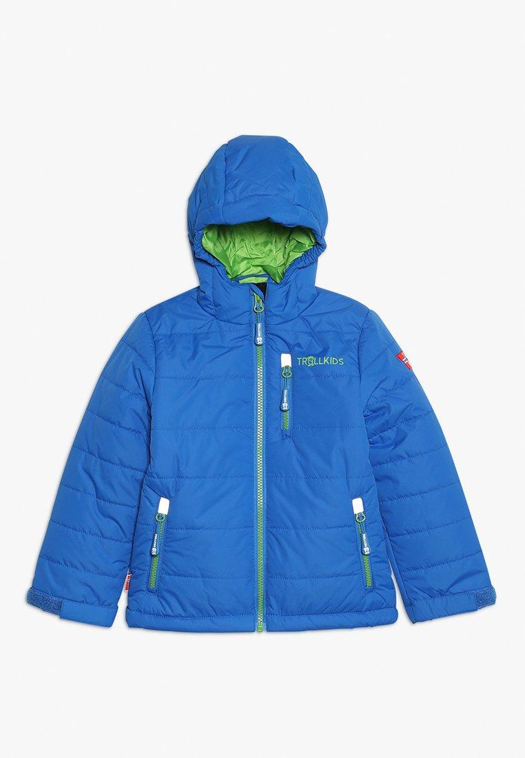 TrollKids - KIDS HEMSEDAL SNOW JACKET - Light jacket - medium blue
