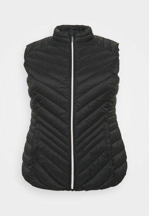 LIGHTWEIGHT PADDED GILET - Waistcoat - black