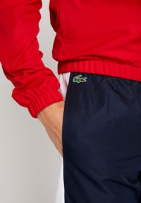 Lacoste Sport - TRACKSUIT - Träningsset - red/white/navy blue - 5