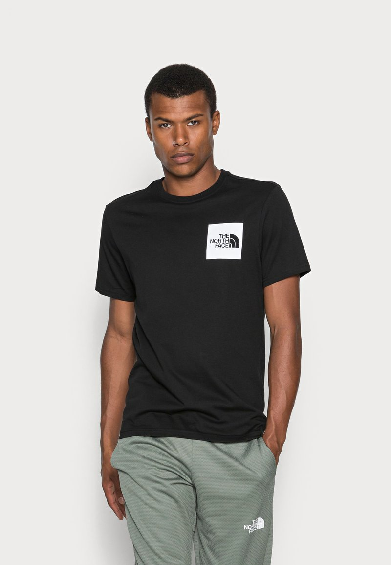 The North Face - FINE TEE - T-shirt med print - black