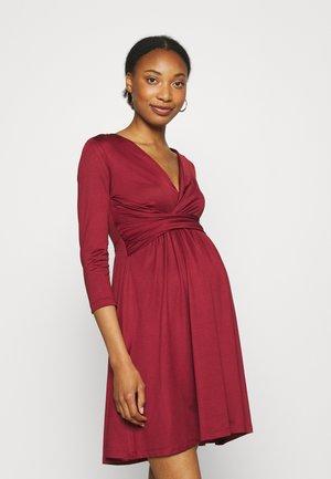 Vestido ligero - dark red