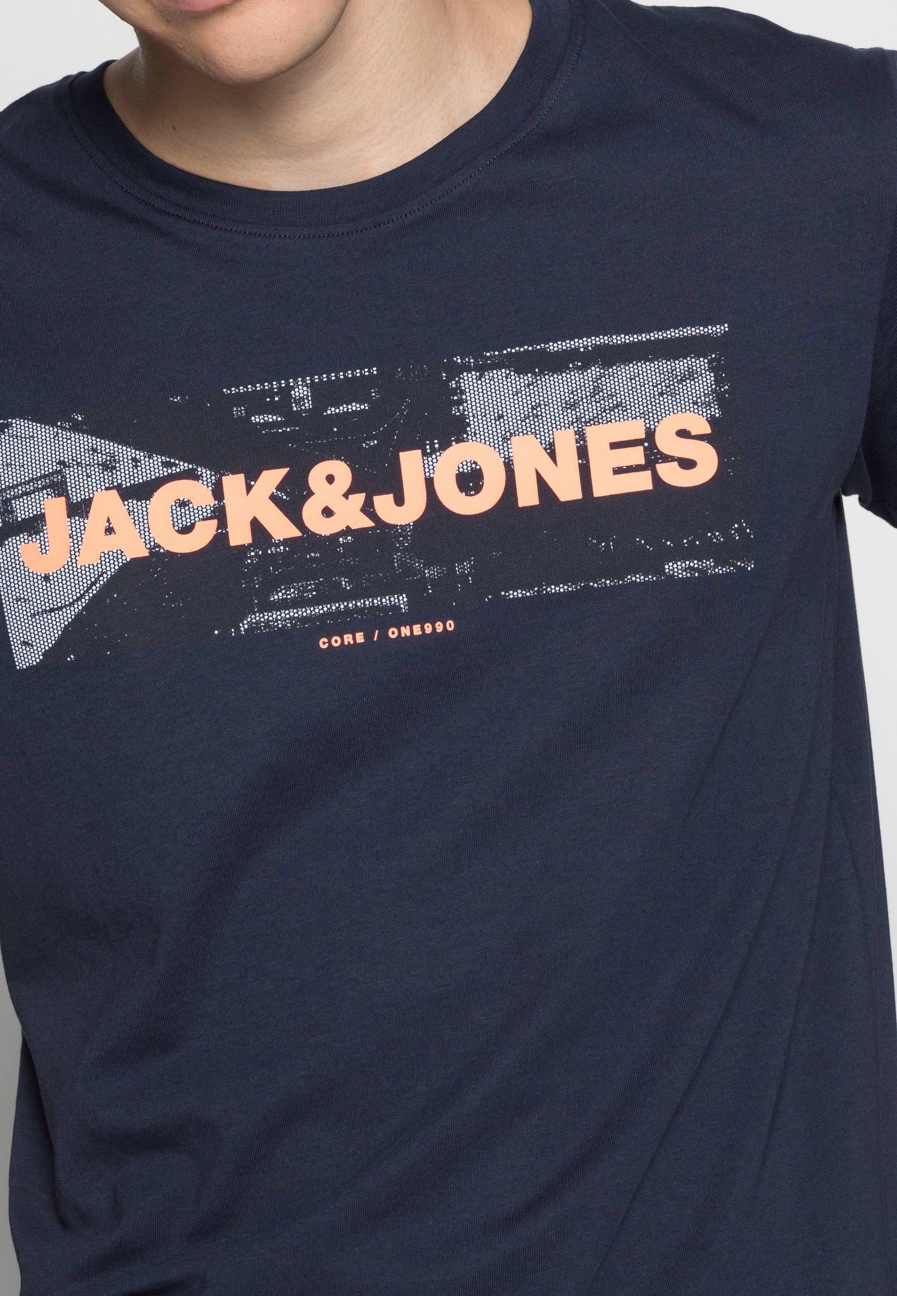 Men JJHONOUR TEE CREW NECK - Print T-shirt