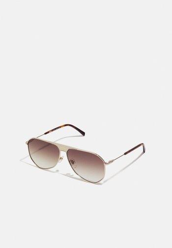 UNISEX - Occhiali da sole - shiny gold