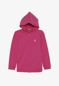 Benetton - JACKET HOOD  - Zip-up hoodie - pink - 3