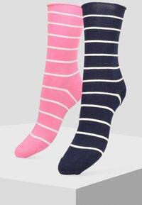 Libertad - 2PACK - Socks - dark blue - 0