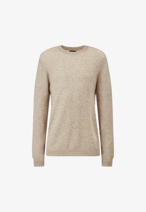 WILL MERINO BLEND - Sweater - light beige melange