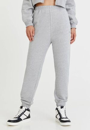 PACIFIC  - Tracksuit bottoms - mottled grey