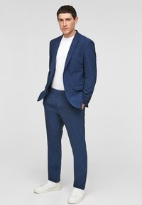s.Oliver BLACK LABEL - MIT HYPERSTRETCH - Suit trousers - blue - 1