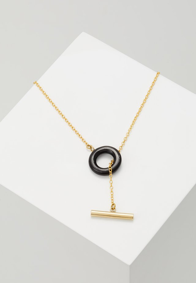 KUMI LARIAT - Necklace - black