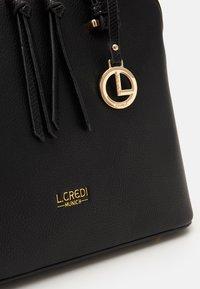 L. CREDI - FLORIANA - Handbag - black - 3