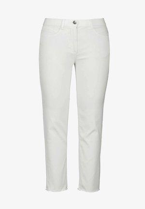 Slim fit jeans - schneeweiß