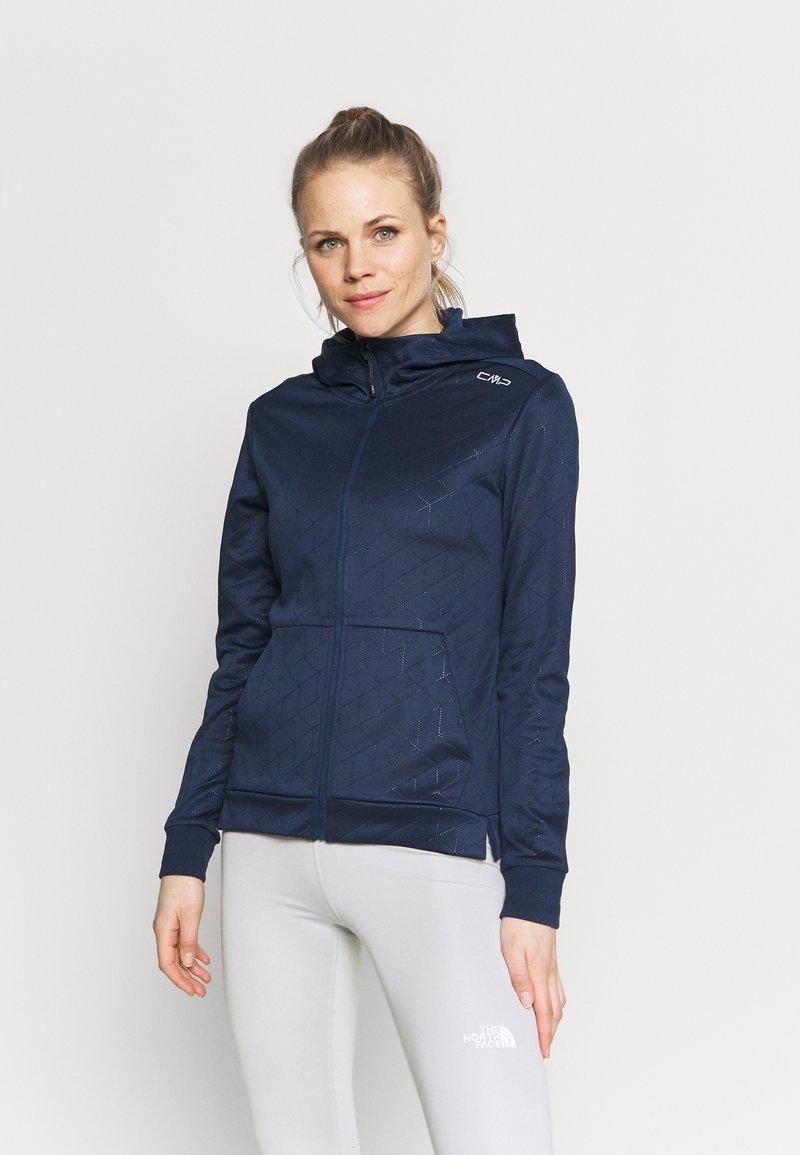 CMP - WOMAN FIX HOOD - Training jacket - blue