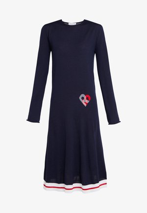 Jumper dress - lapis