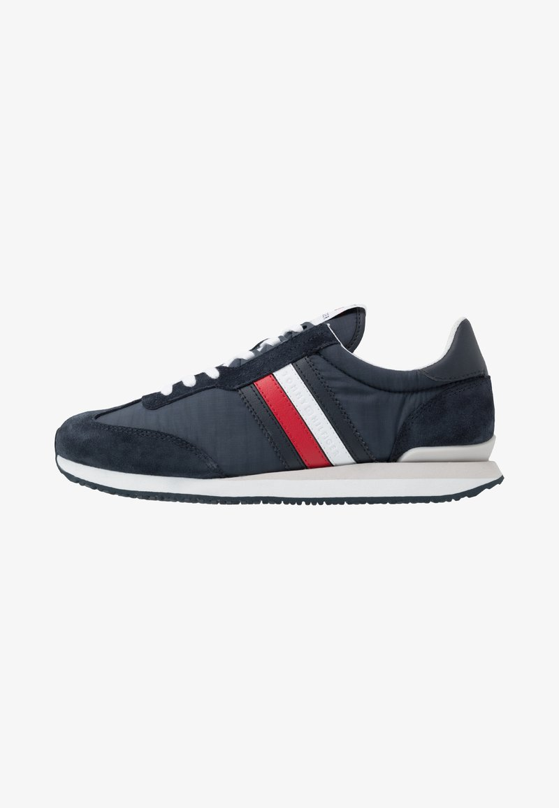 Tommy Hilfiger - MIX RUNNER STRIPES - Trainers - blue