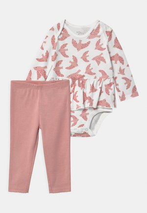 PEPLUM SET - Leggings - Trousers - light pink