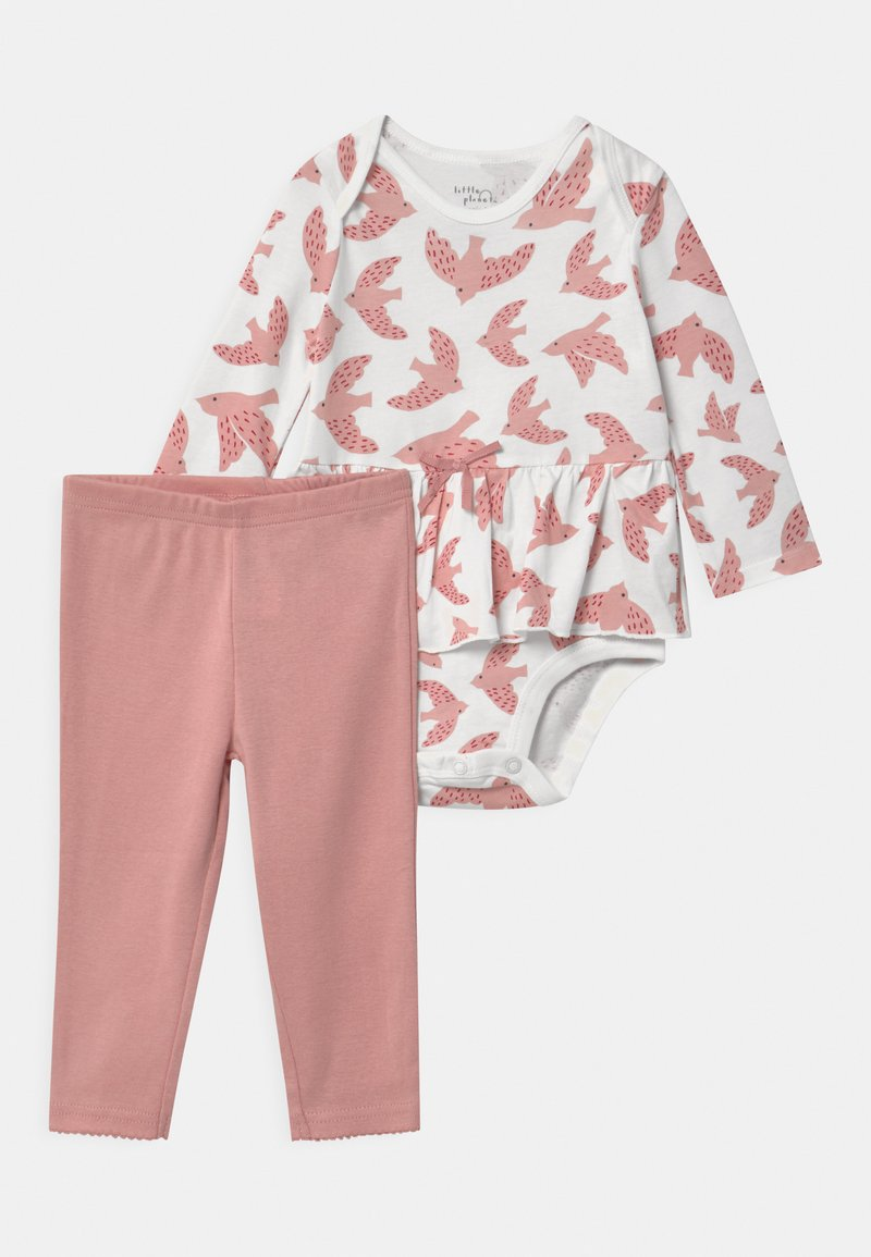Carter's - PEPLUM SET - Leggings - Trousers - light pink