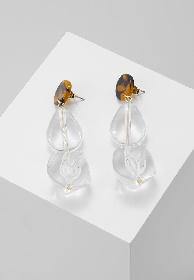 Pieces - Boucles d'oreilles - brown